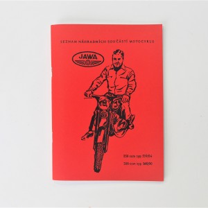 Spare parts catalogue JAWA- 250 type 559/04, 350 type 360/00 - L.CZECH, A5 format, 91 pages