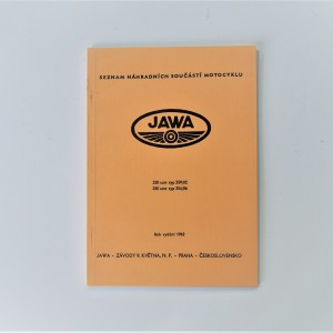 Spare parts catalogue JAWA- 250 type 559/02, 350 type 354/06 - L.CZECH, A5 format, 93 pages