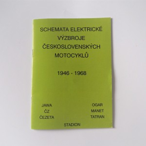 Electrical device diagrams Jawa, CZ 1946-1968 - L.CZECH A5 format, 36 pages