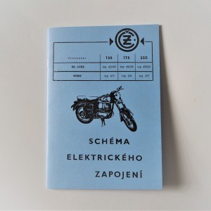 Electrical Installation CZ 125/175/250 - L.CZECH A5 format, 37 pages