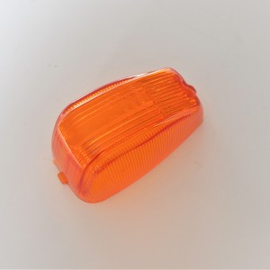 Glass of turn signal light, Plastic, Jawa  Panelka, CZ
