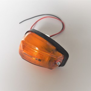 Front turn signal light, rod 25 mm, Jawa  Panelka, CZ