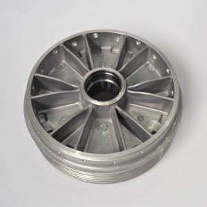 Wheel hub, drum, front, original, Jawa, CZ