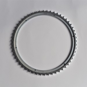 Sprocket, 55t, amplified (tuning), Jawa 50