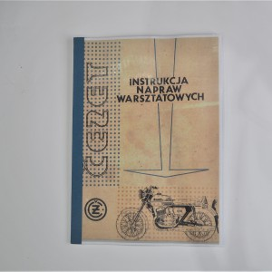 Assembly repair instructions CZ 125, 175 - L.POLISH A4 format, 54 pages