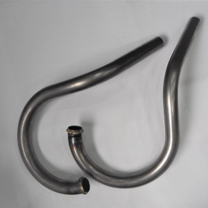 Exhaust pippes, raw, VELOREX 350