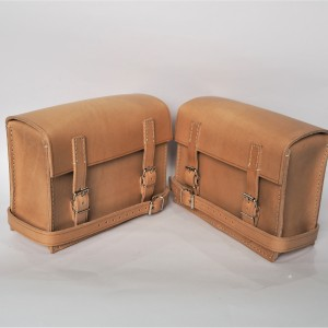 Set of bags, lnatural leather, 230x170x90mm, Jawa Special