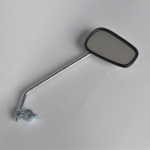 Mirror with a steering wheel clamp, right, zinc, lacquer, Jawa, CZ