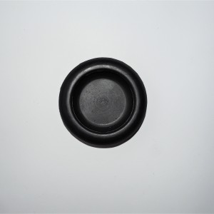 Rubber of rear reflector, black, Jawa, CZ