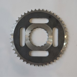 Chainwheel, 46 teeth, rear, Jawa, CZ 1954--